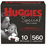 Huggies Special delivery Hypoallergenic Baby Wipes, Unscented