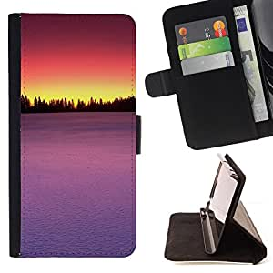 Jordan Colourful Shop - Sunset Beautiful Nature 75 For Samsung ALPHA G850 - Leather Case Absorci???¡¯???€????€?????????&At