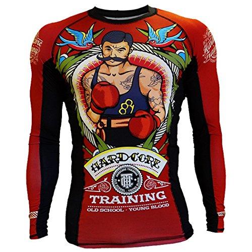Rashguard Hardcore Training Old Tattoo 2.0-l MMA Training Fitness