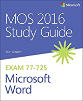 MOS 2016 Study Guide for Microsoft Word Front Cover