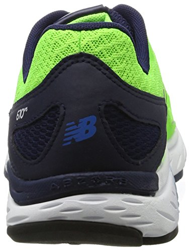 New Balance New Balance Indoor Uomo Sportive 670v5 Scarpe Multicolore Lime FqOx5d5wE