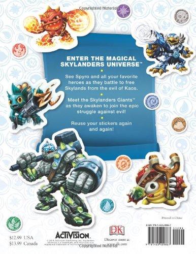 Ultimate Sticker Collection: Skylanders Universe