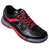 Brunswick Mens TPU-X Performance Bowling Shoes RH Wide- Black/Red (10 E US, Black/Red)