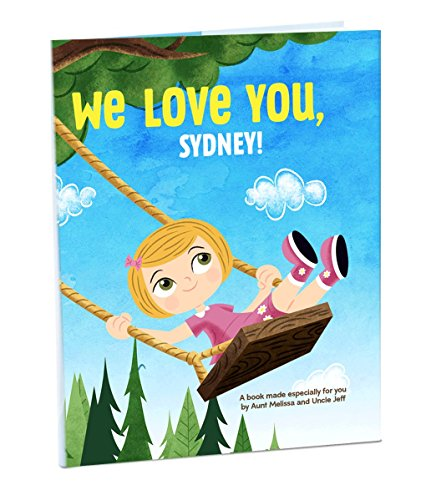 Hallmark Personalized Books: We Love You (Girl) (Toy Story Girl Name)