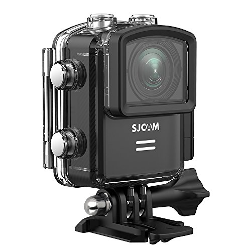 SJCAM M20 Wifi Real 4K Action Camera 16MP Sony Sensor/ Remote Control/ Gyro Stabilization/ 166° Wide FOV Distortion Correction Underwater Camera+ Waterproof Case- Black by SJCAM
