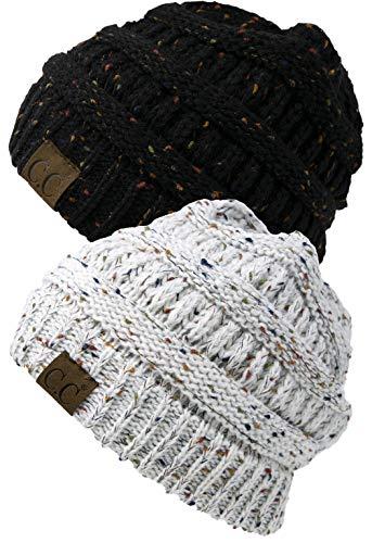 Aeropost.com Jamaica - Funky Junque CC Confetti Knit Beanie Thick Soft Warm  Winter Hat Unisex 8e063a18d9fe