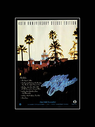 hotel california eagles poster - 9