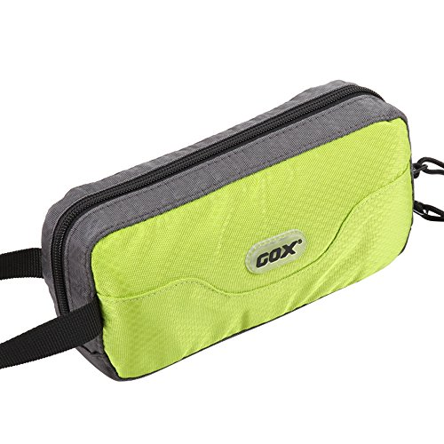Premium Travel Bag - GOX Premium Toiletry Bag, Dopp Kit Case For Travel, Multifunction Cosmetics Organizer Pouch(Green/Grey)