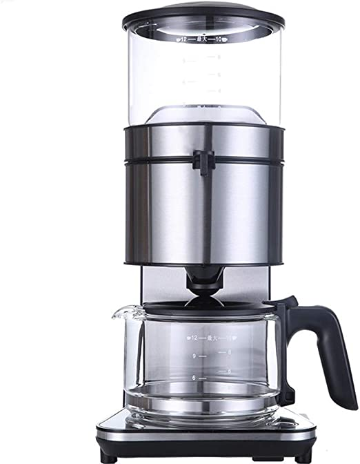 HEYU-Cafetera American Automatic Coffee Machine, (1250ml) Filter ...