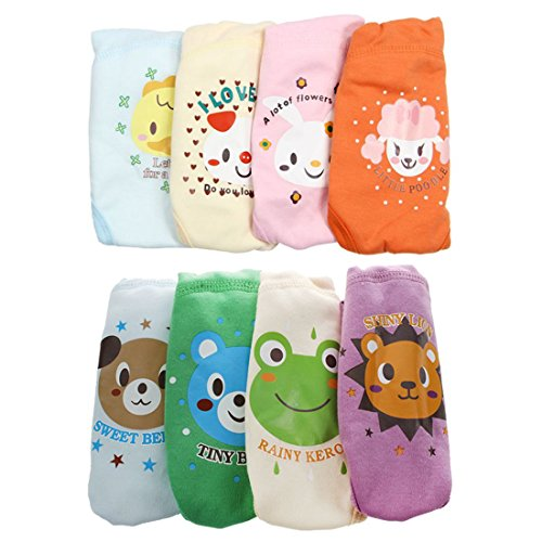 Potty Training Pants - TOOGOO(R)4 X Baby Toddler Girls Boys Cute 4 Layers...