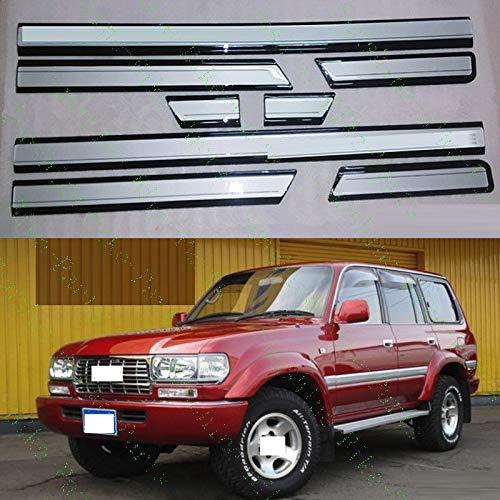 FidgetFidget 8X Car Door Anti-Collision Strips for Toyota Land Cruiser LC80 4500 FZJ80 91-97