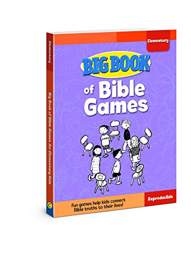 Big Book of Bible Games for Elementary Kids (Big Books) from David C Cook