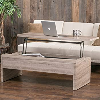 Glenn Lift Top Functional Coffee Table Kitchen Dining