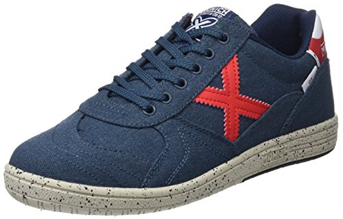 Multicolor G Adulto 820 Zapatillas Azul 3 Canvas Deporte Munich de Unisex g8RSdSx