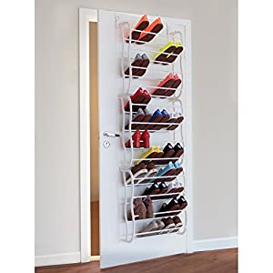 Artmoon ARC Over Door Hanging Shoe Rack Extra Large Shoe Storage Organizer for 36 Pairs