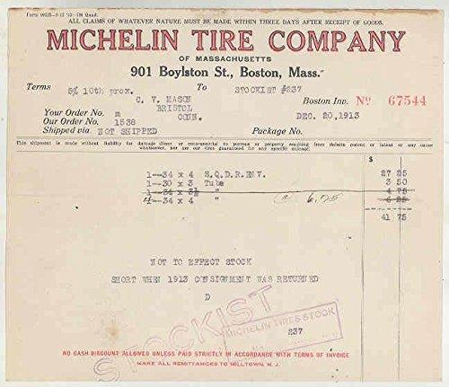 1913-michelin-tire-boston-dealer-invoice