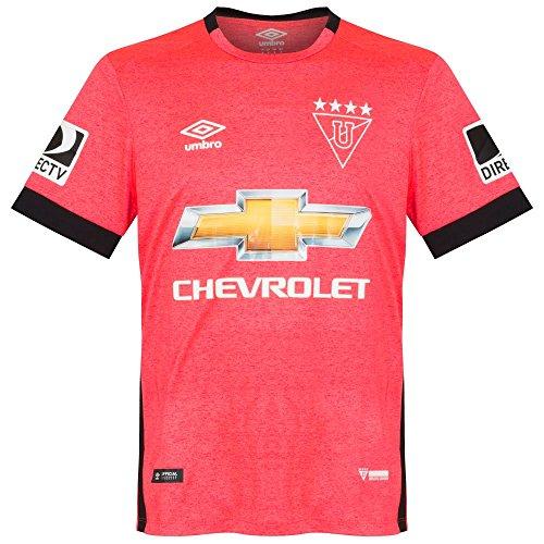 (Umbro 2017 Liga de Quito Pink Ribbon Special Edition Jersey - S)