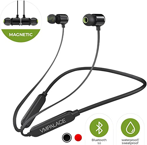 NPET A3 Active Noise Cancelling Headphones, Bluetooth Headphones with Microphone Deep Bass Wireless Headphones Over Ear, Comfortable Protein Earpads, 30 Hours Playtime for Travel Work