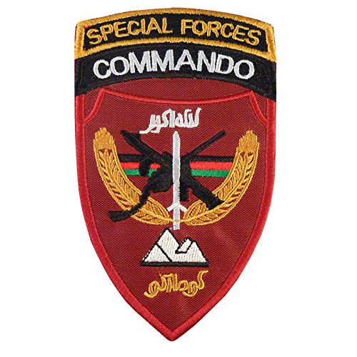 Commando Uniform - LEGEEON Afghanistan Special Forces Commando MARSOC ANASF ANA Afghan Army Hook&Loop Patch