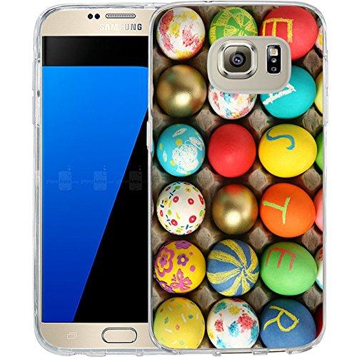 Galaxy S7 Case Samsung Galaxy S7 Case TPU Non-Slip High Definition Printing Creative Easter Eggs