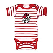 Two Feet Ahead Georgia Bulldogs NCAA College Newborn Infant Baby Creeper (6 Months)