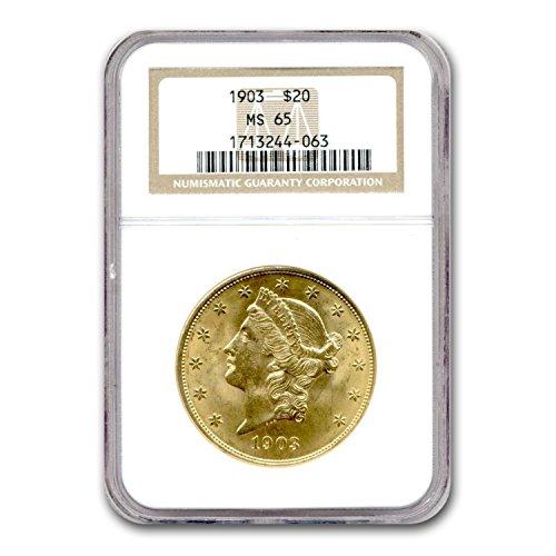 1903 $20 Liberty Gold Double Eagle MS-65 NGC G$20 MS-65 NGC