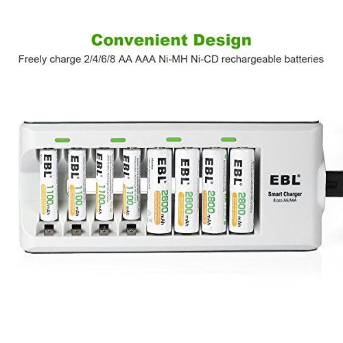 Buy rechargeable batteries charger