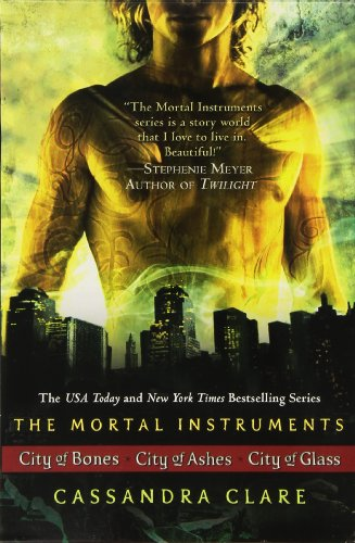 The Mortal Instruments Boxed Set: City of Bones; City of Ashes; City of Glass - Book  of the Mortal Instruments