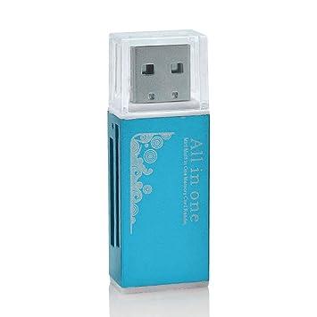Lector de tarjetas de memoria y lápiz USB 2.0 todo en uno. Flash ...