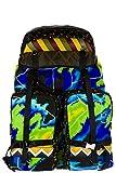 Prada men's Nylon rucksack backpack travel radar patch black