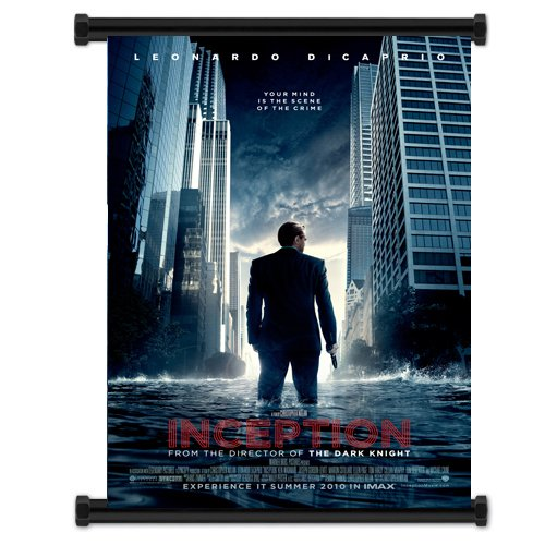"""Inception Movie Fabric Wall Scroll Poster (16""""x21"""") Inches"""