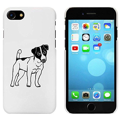 Blanc 'Jack Russell Chien' étui / housse pour iPhone 7 (MC00081912)