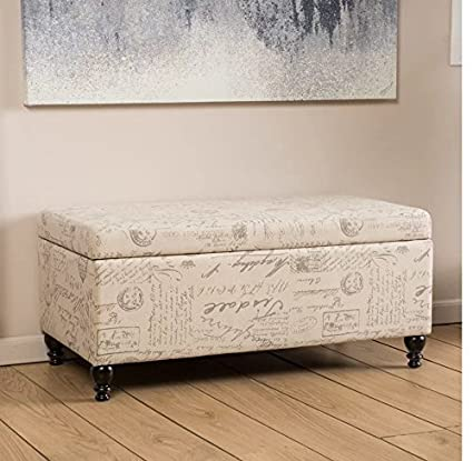 Peachy Amazon Com Stylish Sophisticated Souliere Storage Ottoman Short Links Chair Design For Home Short Linksinfo