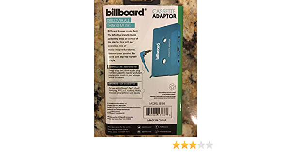 BLK BILLBOARD Cassette Adaptor
