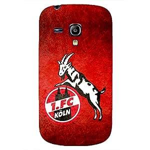 Unique Design FC 1.FC Koln Series Football Club Logo Phone Case Cover For Samsung Galaxy S3mini 3D Plastic Phone Case