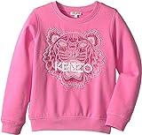 Kenzo Kids Girl's Tiger Sweatshirt (Big Kids) Bubble 8A