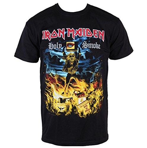 Herren T-Shirt Iron Maiden - Holy Smoke - ROCK OFF - IMTEE46MB XL