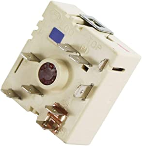 NEW Primeco 316238201 Surface Element Switch Compatible with Electrolux Frigidaire made by OEM Manufacturer 2026203, 316238200, PS3504401, 316238201, AP5325508-1 Year Warranty