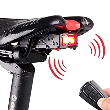 Equipo de ciclismo IP65 impermeable USB recargable inteligente COB ...