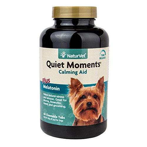 Quiet Moments Calming Aid Supplement Tablets for Dogs