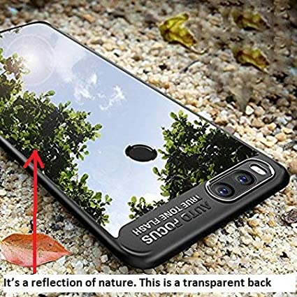 factory authentic 19013 3d89f Amozo Camera Protection Auto Focus All Sides Protection Sleek Transparent  Back Case Cover For Redmi Mi A1 / MI 5X (Black)