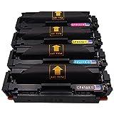Toner Kingdom Compatible HP 410X CF410X CF411X