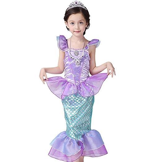 iBellete Vestido para niña Halloween110CM / Sirena de Halloween ...