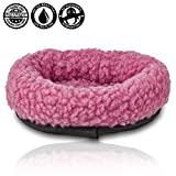 "Toys : For Hatchimals - EggHead Bed Nest Nesting 6.5"" Fleece Egg Holder Accessories- For Use With All Hatchimals Eggs - Pink"