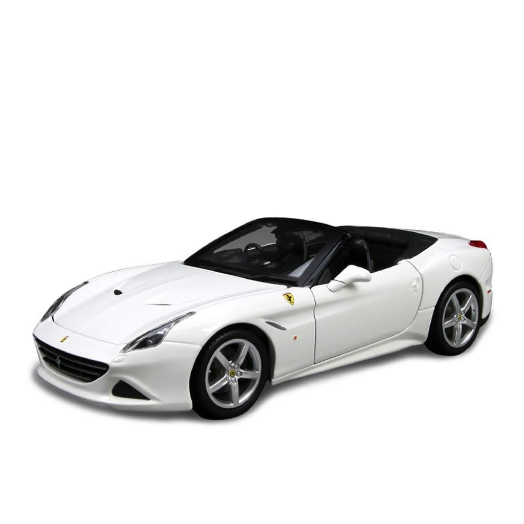 caliente DYHOZZ 1 24 Modelo de Coche Modelo de de de aleación de Roadster coleccionables artesanías - Color  blancoo - 18CM × 7.0CM × 5.5CM Modelo de Auto  ventas en línea de venta