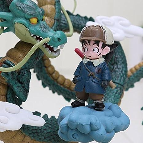 Amazon.com: Anime Dragon Ball Z Goku games Museum Collection Shenron Son Goku Action Figure model Toy: Toys & Games