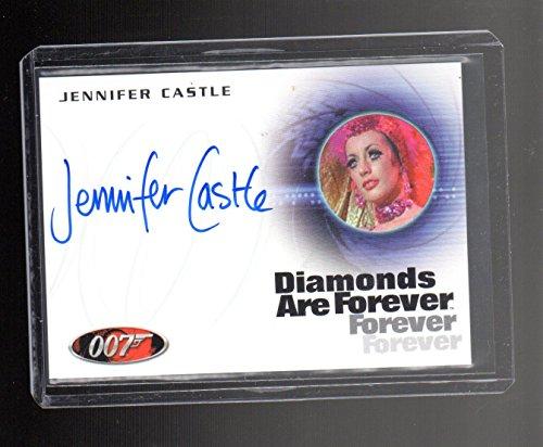 James Bond Jennifer Castle A235 Autographed card