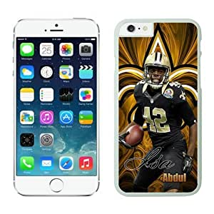 Orleans Saints Isa Abdul Quddus Case Cover For SamSung Galaxy S5 White NFL Case Cover For SamSung Galaxy S5 14282