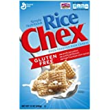 General Mills Rice Chex Oven Toasted Gluten Free 12 Oz. Pack Of 3.
