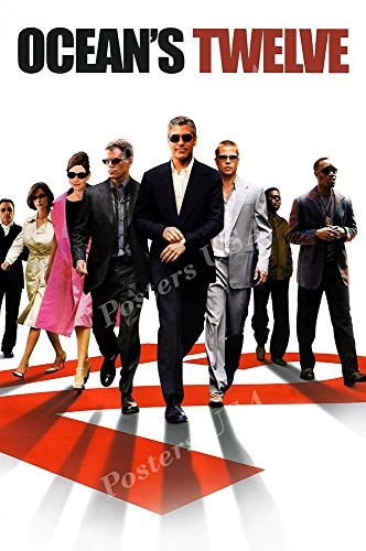 PremiumPrints - Ocean's Twelve 12 Movie Poster - XMOV318 Premium Decal 11